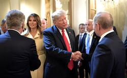 Клипарт. Сайт президента России, путин владимир, трамп дональд