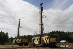 Пресс-тур на промышленное освоение Хохловского месторождения урана. Шумихинский район, далур, добыча урана, буровая установка