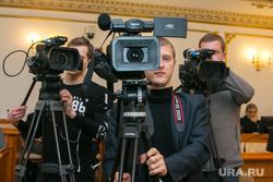 Заседание правительства области. Курган, телекамеры, телевидение, видеосъемка, видеокамеры, видеооператор