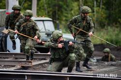 Этап специальных учений материально-технического обеспечения на станции Адуй. Свердловская область, военные, солдаты, стрелки, военные учения, этап учений материально-технического обеспечения
