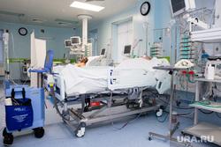Пресс-тур в окружной «Центр диагностики и сердечно – сосудистой хирургии». Сургут, реанимация