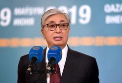 Президент Казахстана. Екатеринбург, токаев касым-жомарт