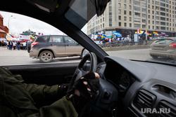 Шествие посвященное столетию геноцида армян. Екатеринбург, водитель, салон автомобиля, шофер