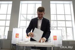 Выборы президента РФ в Перми, решетников максим, выборы 2018, голосование, урна для голосования