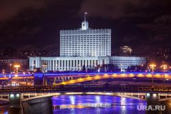 Москва, разное., белый дом, москва-река, вечерний город, здание правительства рф, мосты, город москва