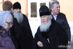 Визит духовника Свято-Введенской Оптиной пустыни схиархимандрита Илия в Курган, митрополит иосиф
