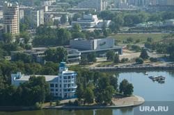 Виды Екатеринбурга, набережная исети, ккт космос, тюз, динамо, театр юного зрителя