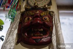 Монастырь Шад Тчуп Линг на горе Качканар, маска
