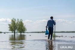 Наводнение. Нижневартовск, наводнение, половодье