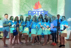 Уральским школьникам удалось побывать в «Артеке». Для этого они выполнили одно условие