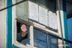 Автостоянка на Татищева-Токарей, Екатеринбург, окно, информация, фига, кукиш, отказ