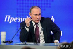 12 ежегодная итоговая пресс-конференция Путина В.В. (перезалил). Москва, портрет, путин владимир, жест рукой