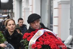 Прощание с Олегом Табаковым в МХТ им.Чехова. Москва, коршунов александр