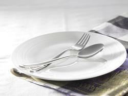 Клипарт depositphotos.com, вилка, столовые приборы, голодовка, ложка, пустая тарелка