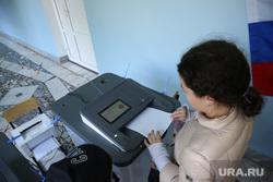Выборы в Тюмени. Тюмень, кабинки для голосования, коиб, выборы, бюллетени, избирательный участок, голосование