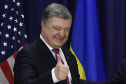 Официальный сайт президента Украины, порошенко петр, большой палец вверх