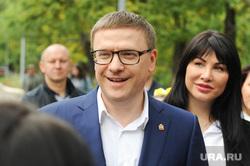 Алексей Текслер на участке для голосования на Едином дне голосования 2019. Челябинск, текслер алексей, текслер ирина