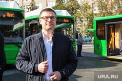 Текслер Алексей на презентации автобусов на газомоторном топливе. Челябинск, текслер алексей, автобус на газу