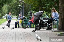 Парки и скверы Екатеринбурга, сквер на улице Мира, сквер, прогулка, улица мира, городская среда, мама с коляской, благоустройство