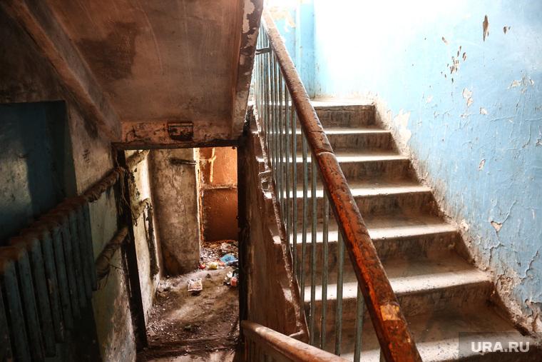 Дом по ул. Ставропольская 1 , который экстренно расселяют.  Тюмень