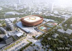 Новые эскизы ледовой арены УГМК, угмк арена, ледовая арена