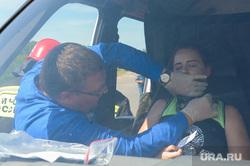 Тактико-специальные учения Скорой помощи по спасению пострадавших в ДТП. Челябинск, оказание помощи, учения при дтп