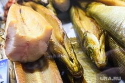 Виды Красноярска, копченая рыба, продукты питания, рыба, еда, рыбный магазин