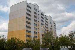 Жилой дом для переселения из ветхого и аварийного жилья. Курган, жилой дом, новостройка, улица дзержинского31а