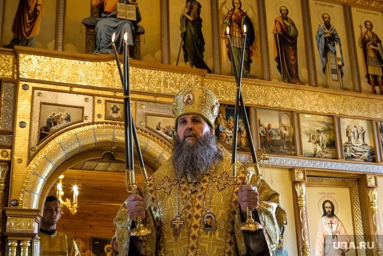 Первая поездка митрополита Курганского и Белозерского Даниила в Свято-Казанский Чимеевский мужской монастырь. Курган