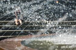 Клипарт. Екатеринбург, фонтан, лето, жара