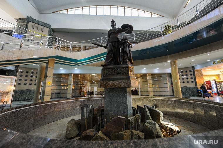 Челябинский железнодорожный вокзал. Привокзальная площадь. Музей железнодорожной техники. Челябинск