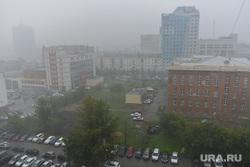 Ливень в Челябинске, город, ливень, дождь