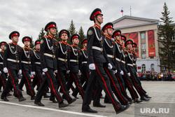 Парад, посвященный Дню Победы. Курган, марш, парад победы, строй