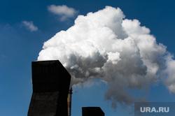 Пресс-тур на ООО Мечел-Кокс. Челябинск, дым, пар, труба, выбросы, экология