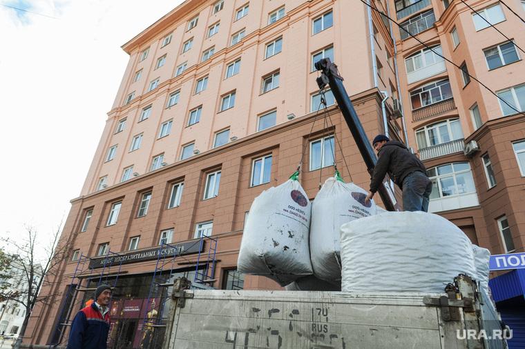 Реконструкция исторического здания на площади Революции 1. Челябинск