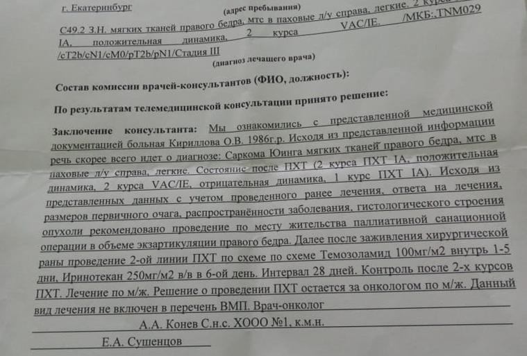 Уральской спортсменке-модели хотят ампутировать ногу из-за рака. Ее мать: «Боюсь, она не переживет операцию»