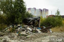 Балочные поселки Взлетный и Черный Мыс. Сургут, поселок взлетный, балки, временное жилье, ветхое жилье