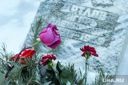 Мемориал группе Дятлова на Михайловском кладбище. Екатеринбург, кладбище, группа дятлова, цветы, цветы на могиле