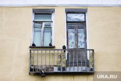 Виды города. Курган, балкон старый