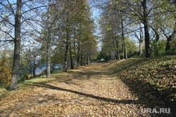 Осень жанровые фотографии Пермь, листва на тротуаре, осень