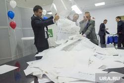 Подсчет голосов. Выборы. Салехард, подсчет голосов, бюлетени, бюллетени, итоги голосования