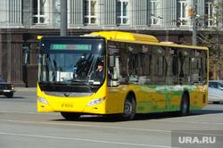 Презентация электробуса с двигателем Yutong. Челябинск, электробус