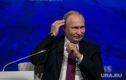 V Международный арктический форум в конгрессно-выставочном центре «Экспофорум». Санкт-Петербург, портрет, путин владимир