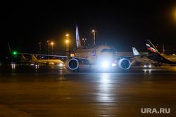 Вечерний споттинг в Кольцово. Екатеринбург, уральские авиалинии, ural airlines, самолет, airbus a320neo, аирбас
