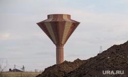 Клипарт. Магнитогорск, водонапорная башня