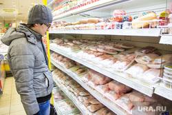 Цены. Юграторг. Ханты-Мансийск, покупатель, продукты, продуктовый магазин, витрина, мясо птицы, курятина