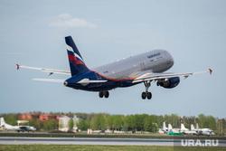 Клипарт по теме Аэропорт. Екатеринбург, самолет, взлет, аэрофлот