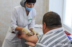Поликлиника ЧОКБ. Челябинск, пациент, забор крови, здравоохранение, врач, вич, спид, шприц, доктор