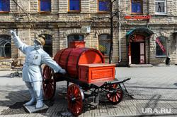 Арт-объекты на Кировке. Челябинск, пожарный, скульптура, спа салон, вип соблазн