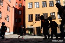 Виды Стокгольма. Швеция, детский сад, дети, экскурсия, шведы, стокгольм, район гамла стан